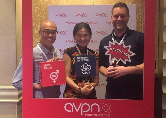 Sharing at AVPN 2017 in Bangkok
