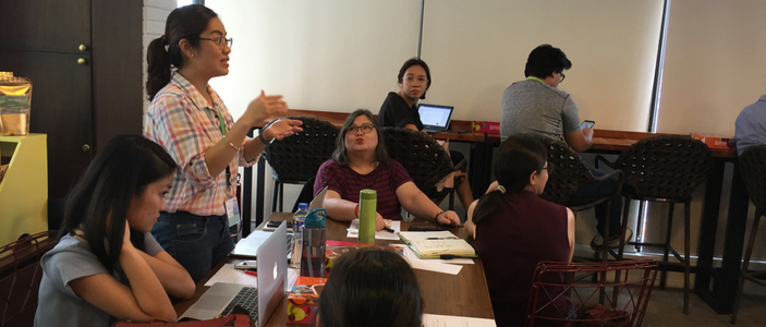 NGO Needs Mapping Workshop in Manila