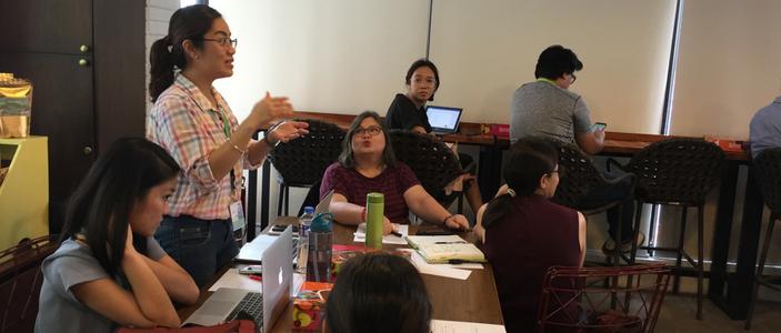 NGO Needs Mapping Workshop in Manila