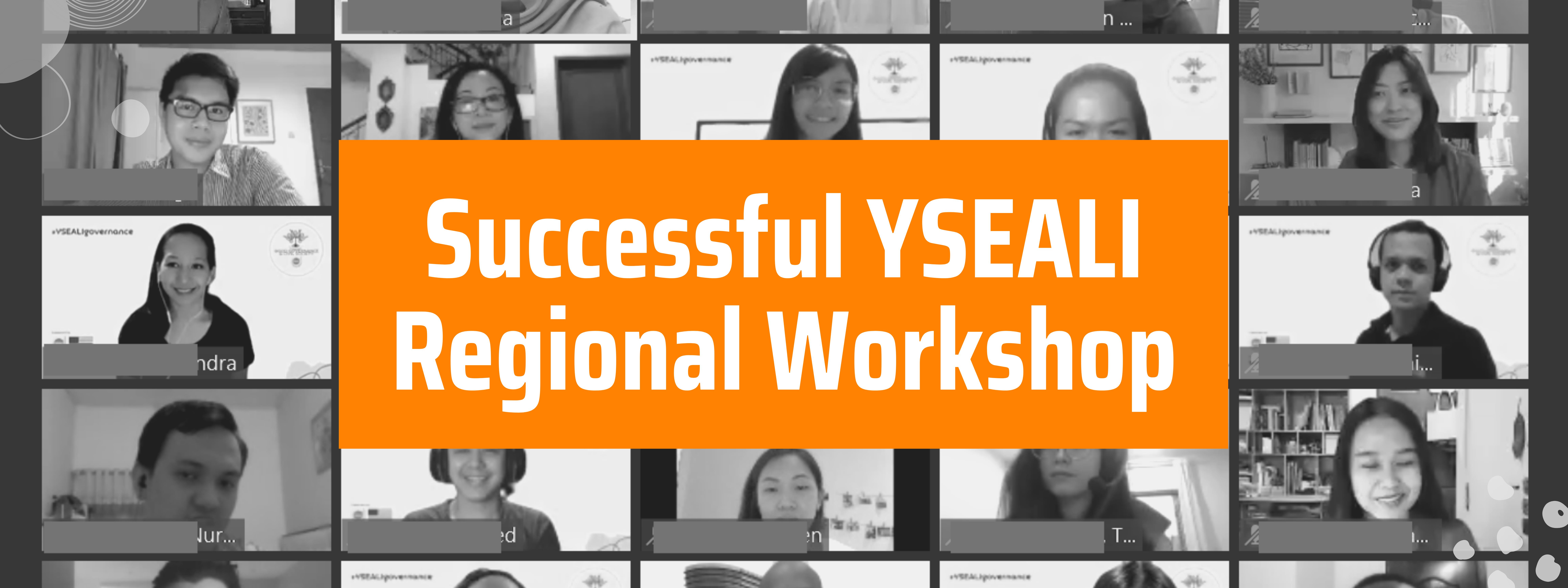 Successful YSEALI Regional Workshop