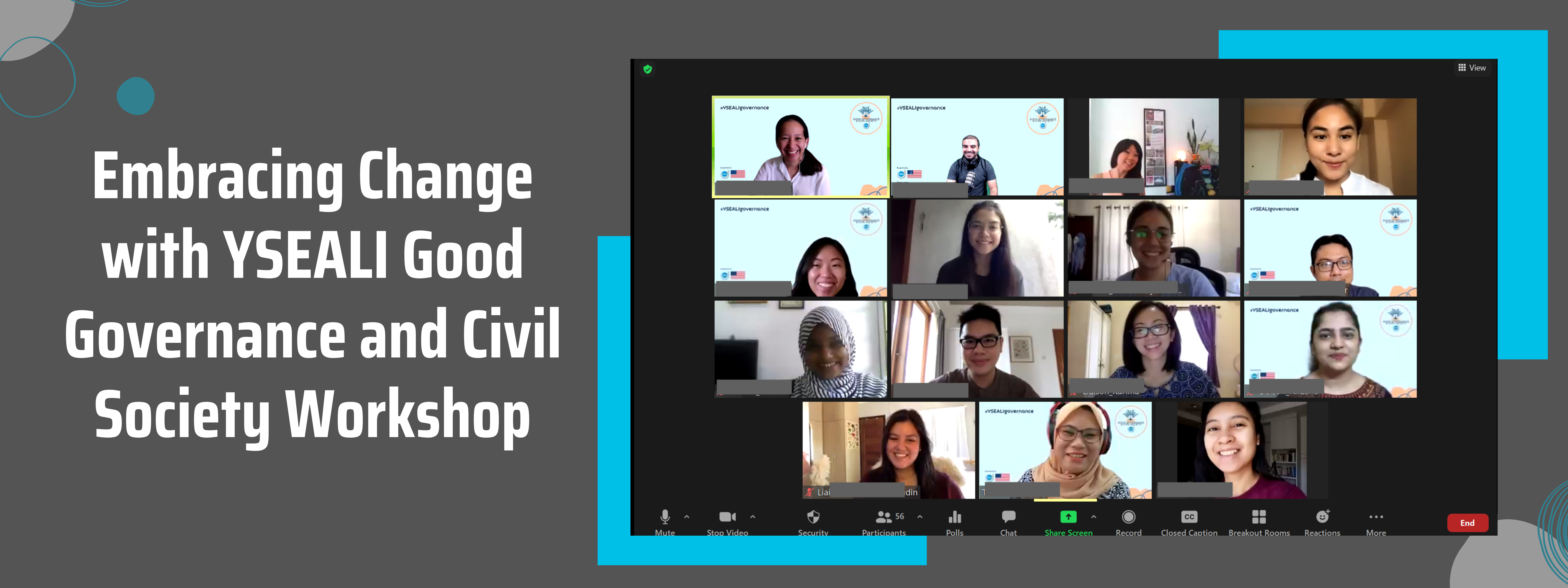 Embracing Change with YSEALI Good Governance and Civil Society Workshop